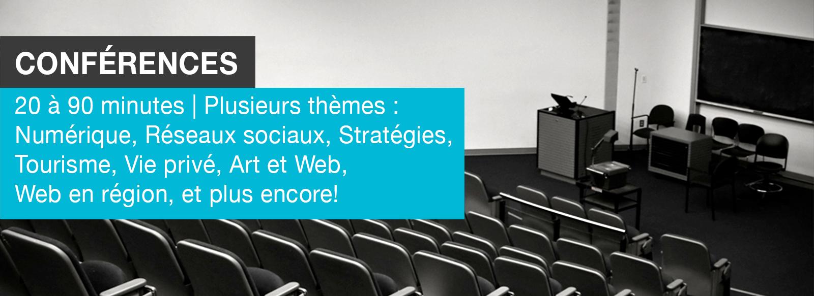 Edith Jolicoeur, Consultante branchée | Conférences