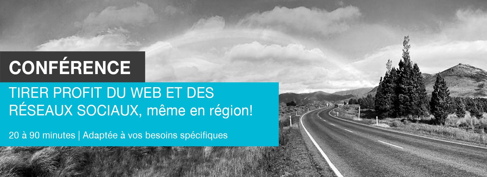 Conférence Réseaux sociaux Région Edith Jolicoeur Consultante branchée