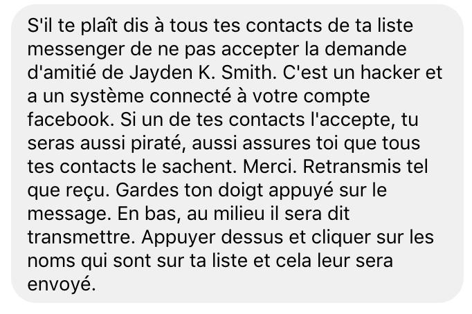 Jayden K Smith Canular Hoax Facebook