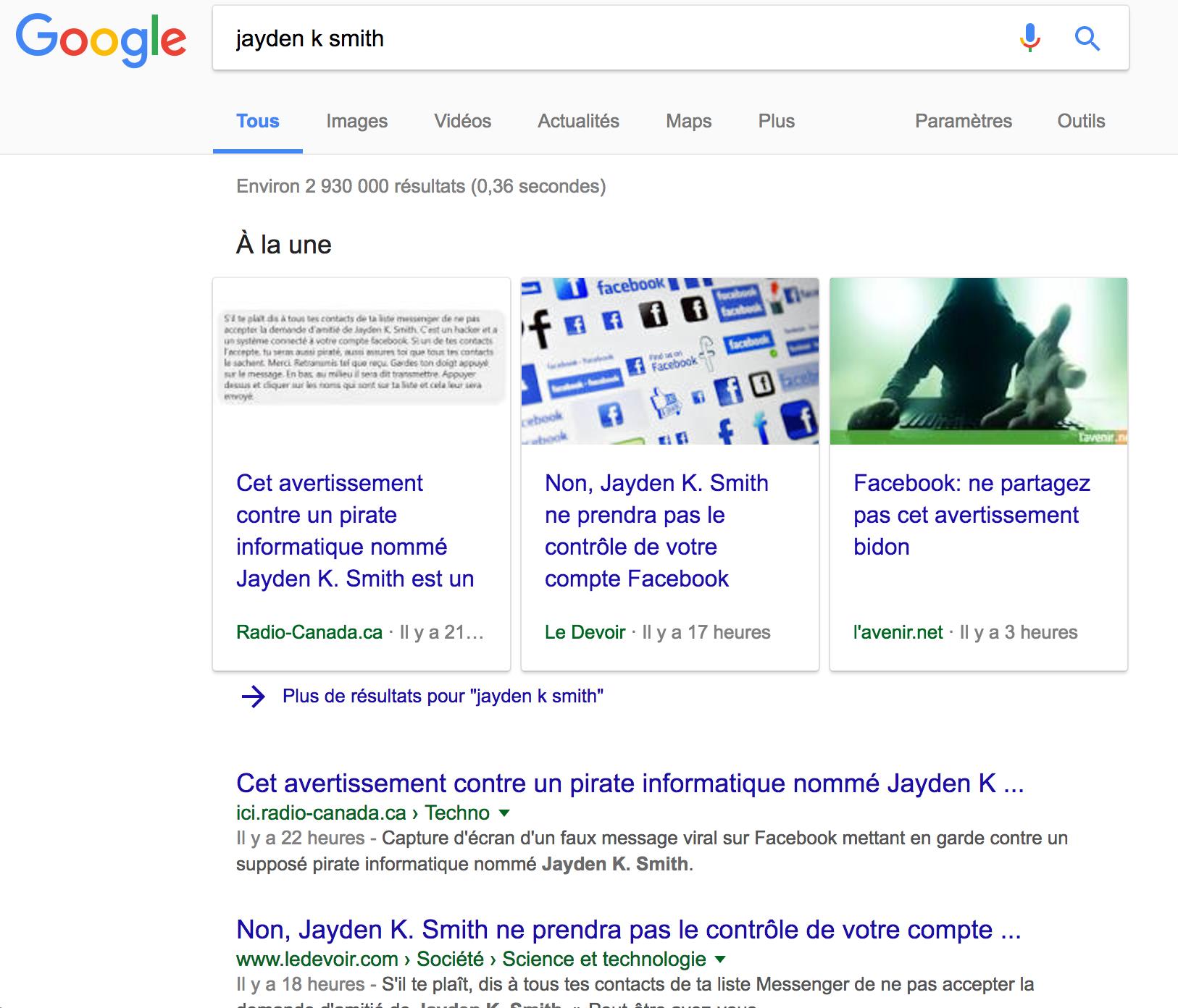 Jayden K Smith Resultats Recherche Google