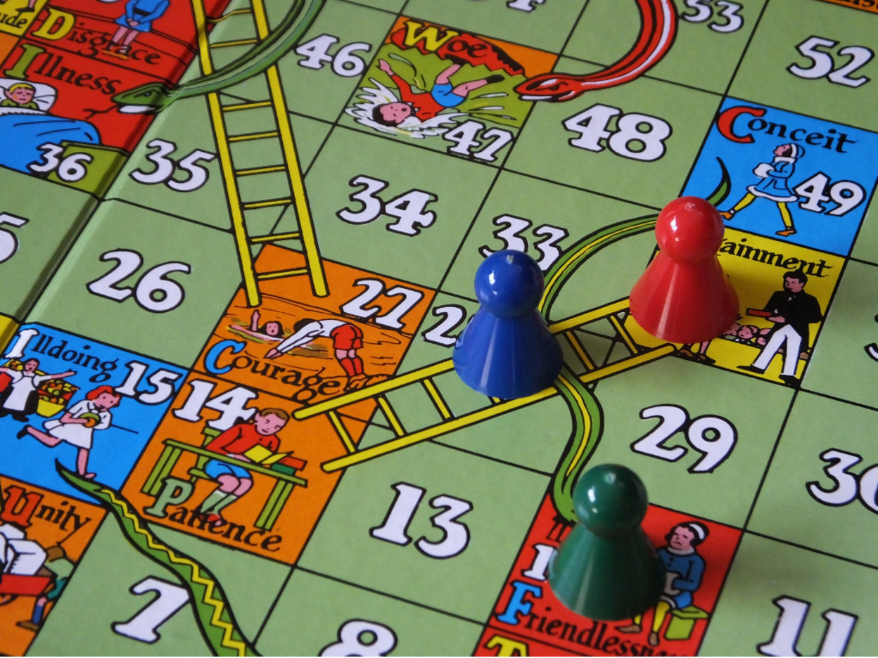 Snakes and Ladders Jacqui Brown