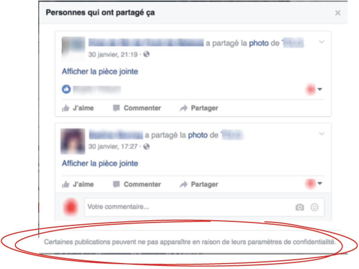 Concours Facebook - Interdit d'exiger de partager