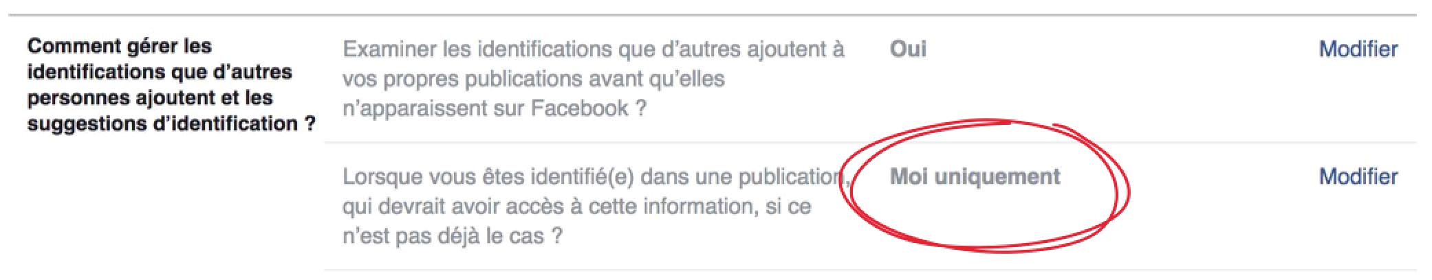 Concours Facebook Interdit d'exiger de « taguer » identifier des amis