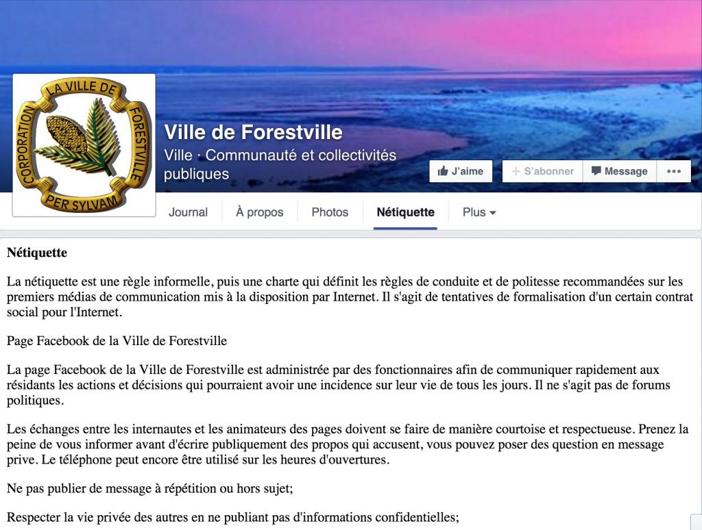 Netiquette Forestville