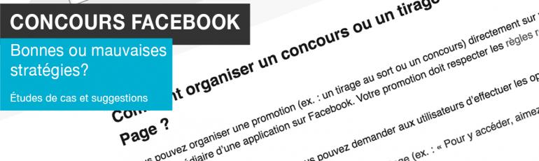 Edith Jolicoeur, consultante branchée Concours Facebook bonnes ou mauvaises stratégies