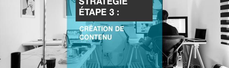 Edith Jolicoeur Consultante branchee Strategie Etape 3 création de contenu
