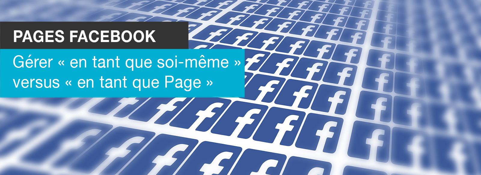 Page Facebook en tant que page soi meme