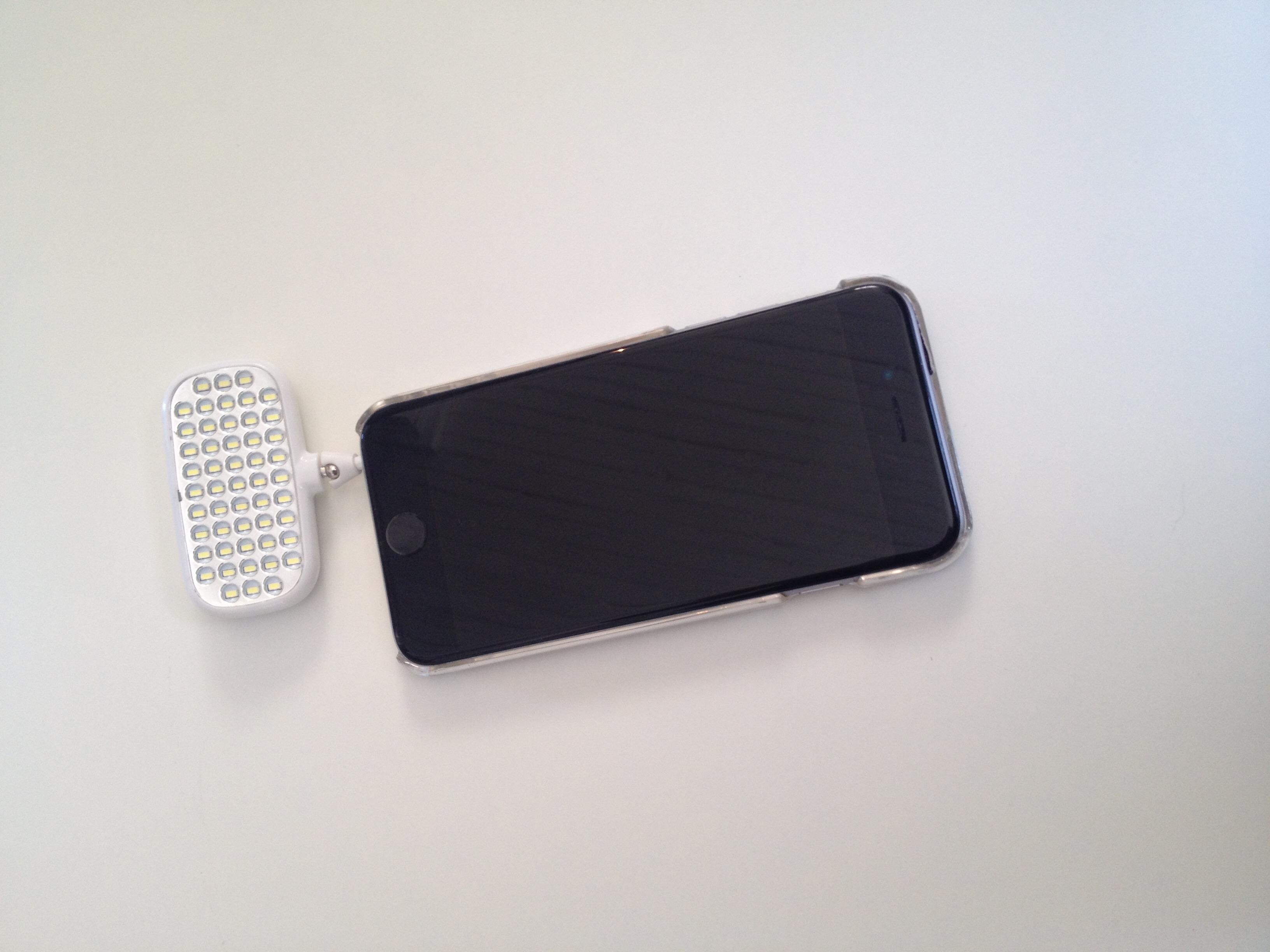 Projecteur D.E.L. LED pour iphone
