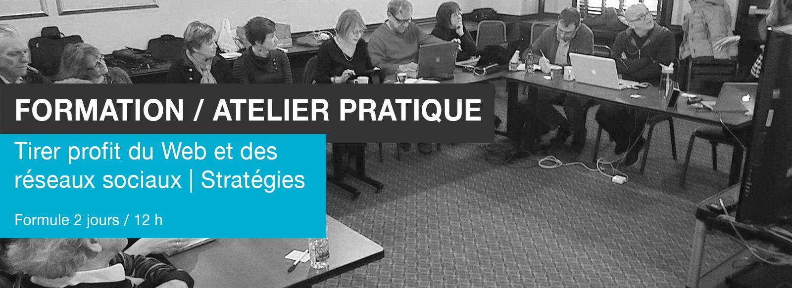 Edith Jolicoeur Consultante branchée Formation Atelier Stratégies Web Réseaux sociaux 12 h