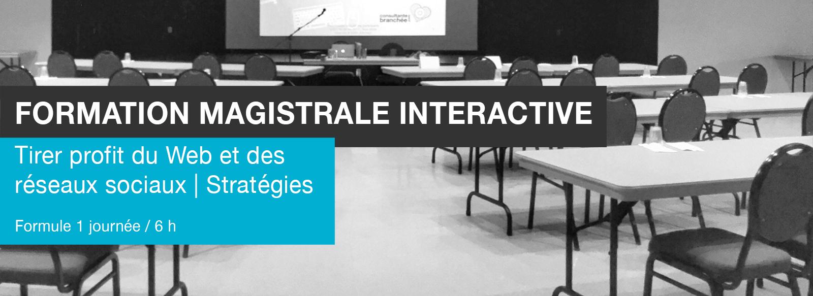 Edith Jolicoeur Consultante branchée Formation Magistrale Interactive Stratégies Web Réseaux sociaux 6 h