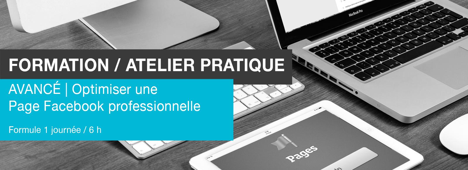 Edith Jolicoeur Consultante branchée Formation Atelier Pages Facebook AVANCÉ organique