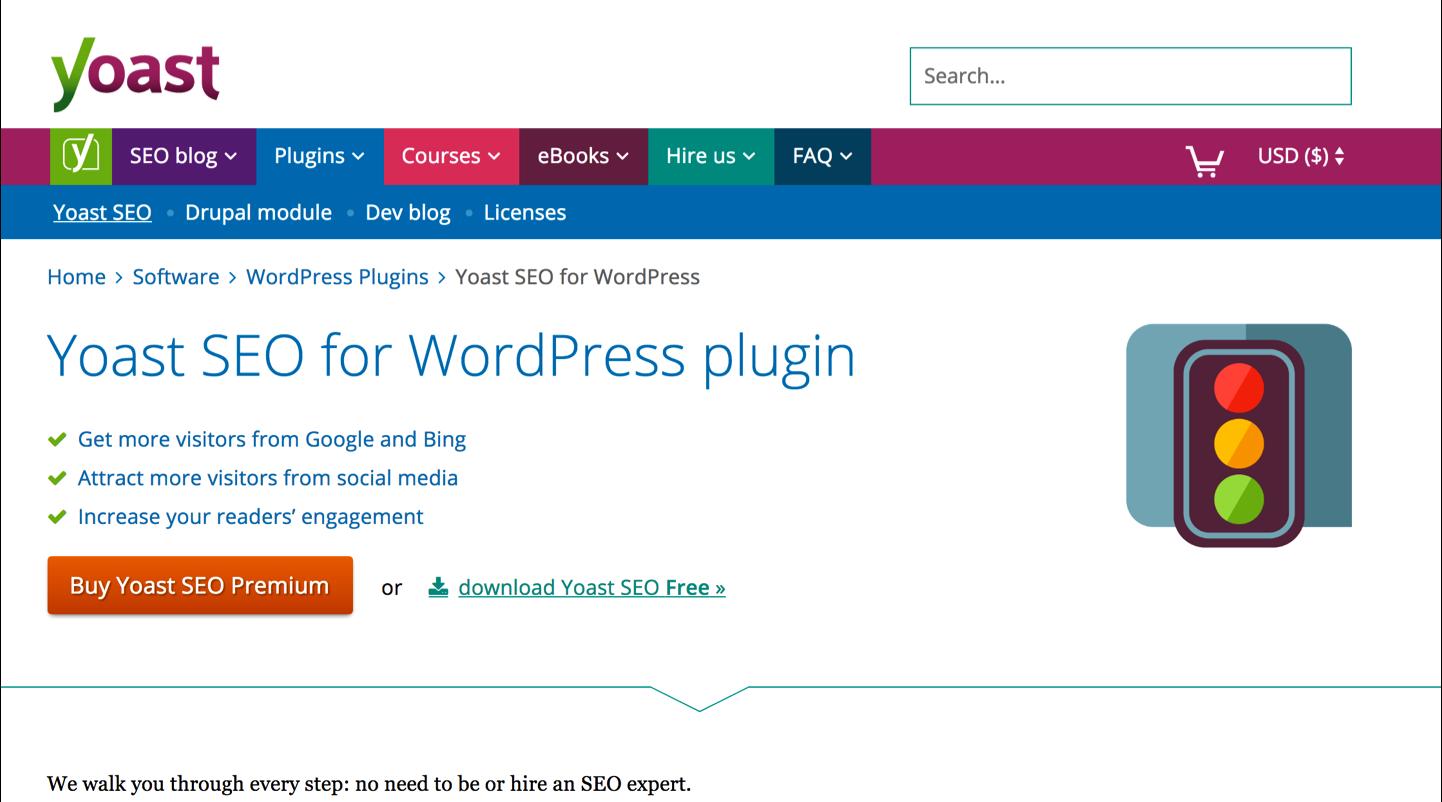 5 Exemple de balises texte Avec Yoast SEO WordPress