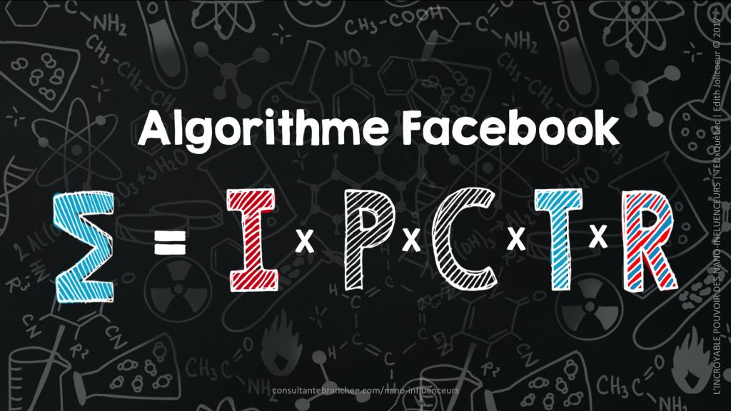 Edith JOLICOEUR TEDxQuebec 2017 NANO-INFLUENCEURS Algorithme Facebook 13