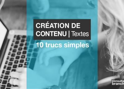 Une Edith Jolicoeur Consultante branchee Contenu Textes Redaction Web 10 trucs