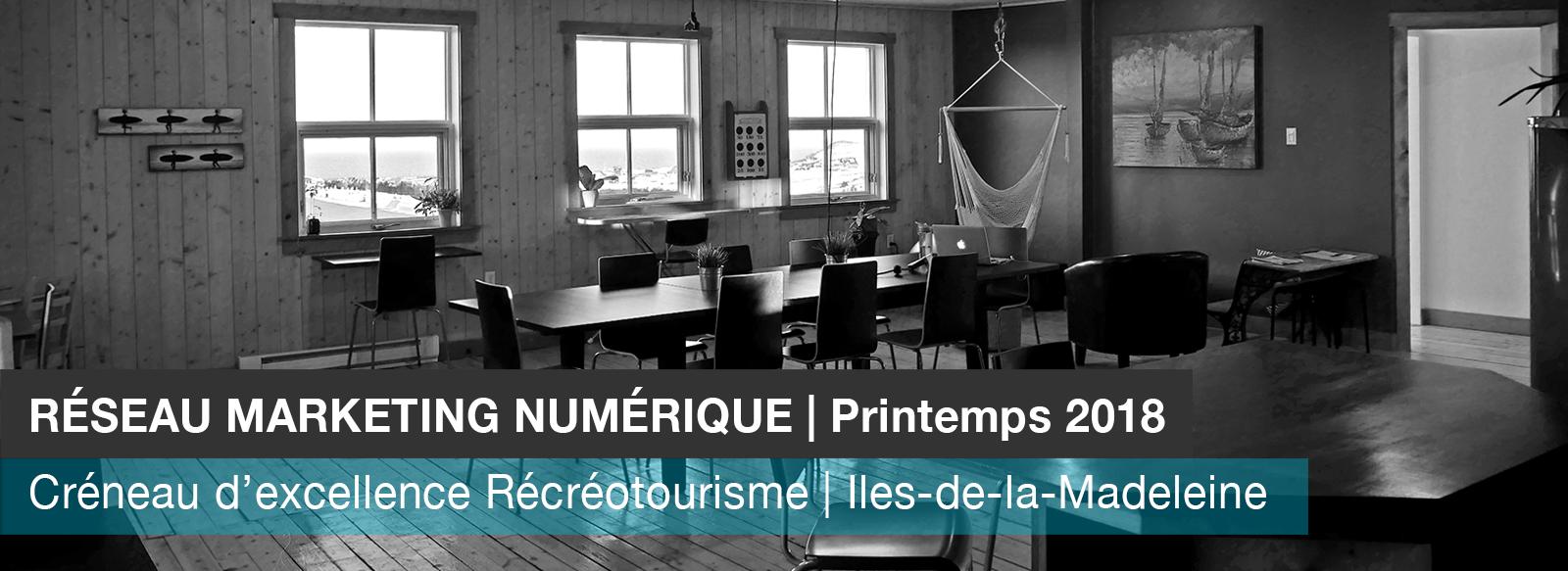 Reseau Marketing Numerique Iles de la madeleine printemps 2018