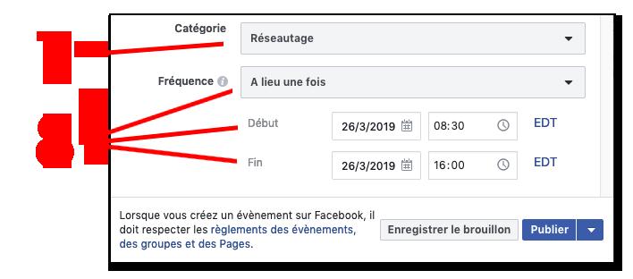 Instructions evenements facebook 7 8