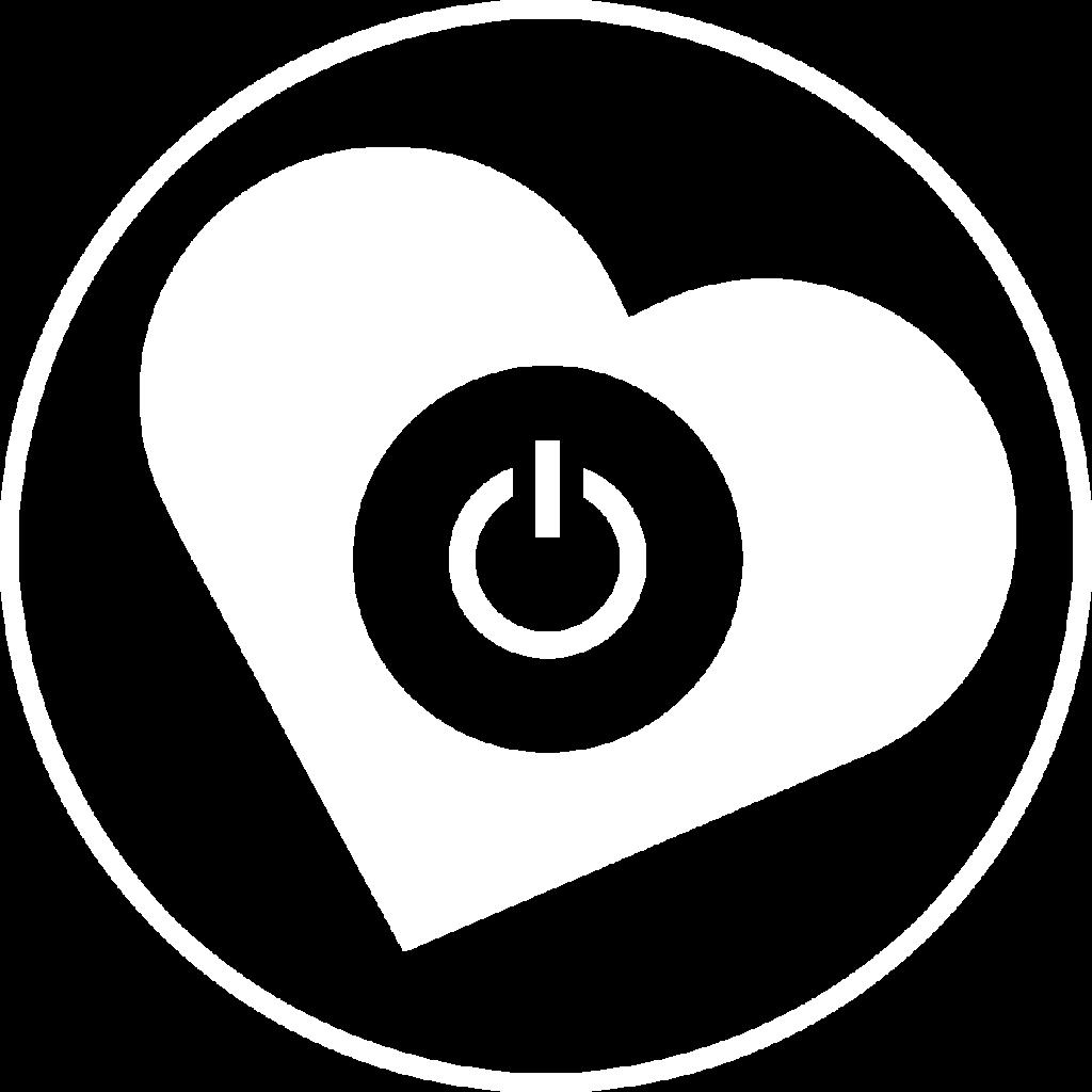 Logo Pastille blanc Edith Jolicoeur. Consultante branchée